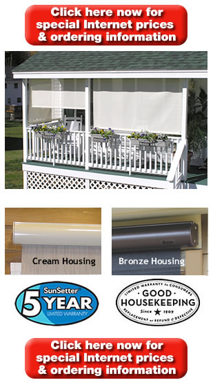 Sunsetter Easyshade Solar Screens